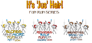 Its Jus Hair Fun Run Series