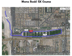 Moms Rock! 5K Course - Kellogg Zaher Park